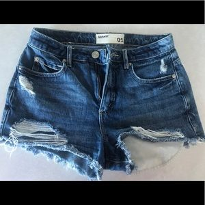 Denim festival shorts Garage
